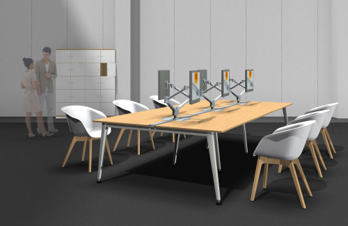 Virtual Showroom Büroeinrichtung