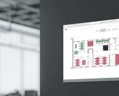 Tingdust Belegungssoftware für Büros Dashboard ansicht