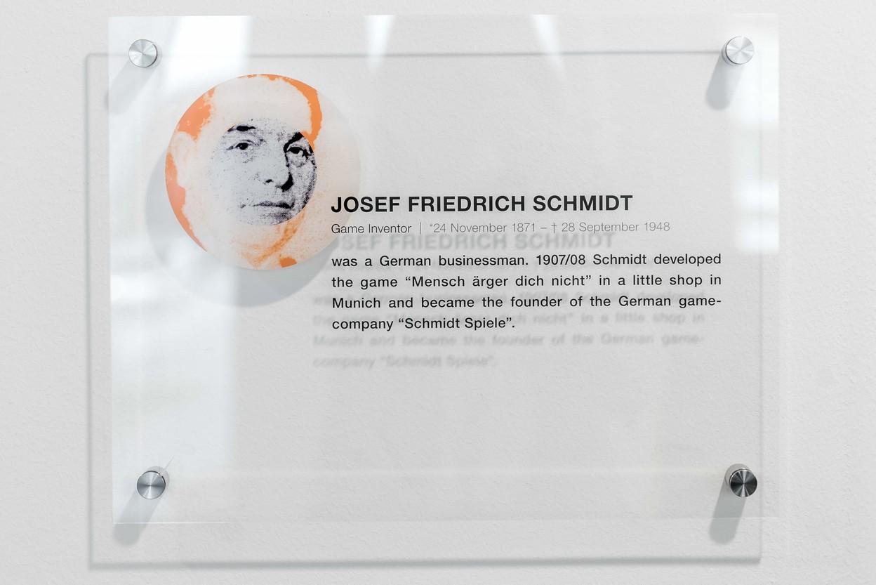 Joseph Schmidt Aufenthaltsraum Schild