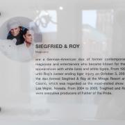 Siegfried & Roy Besprechungssraum Schild