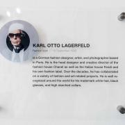 Karl Lagerfeld Kommunikationsraum Schild