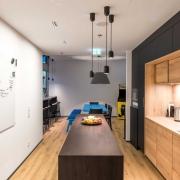 SDA Küche mit Hängeleuchten Conncet Pendants von Zero Lightning