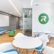 iRobot Germany Work-Cafe mit CI Branding