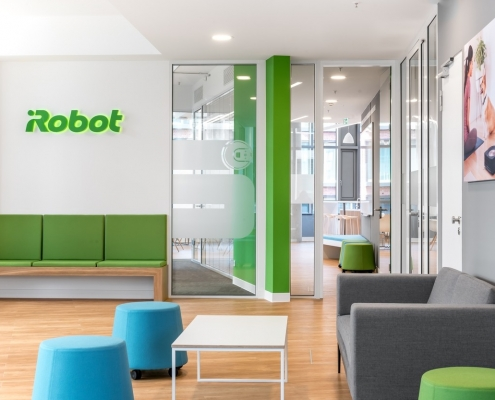 iRobot Germany Eingangsbereich