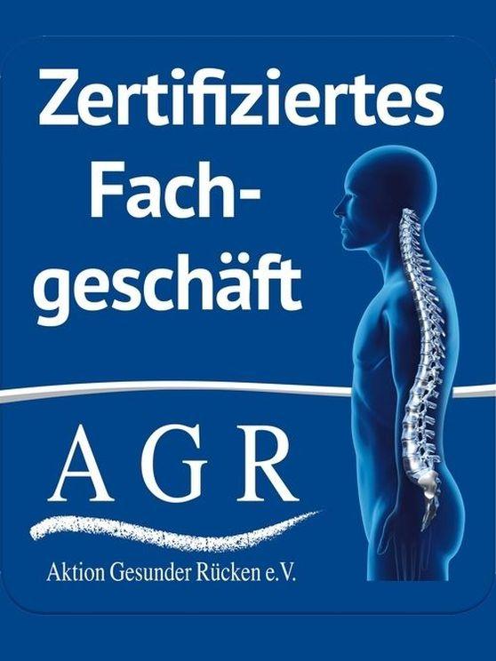 Aktion Gesunder Rücken Zertifikat - Fachgeschäft für ergonomische Büromöbel in Hamburg
