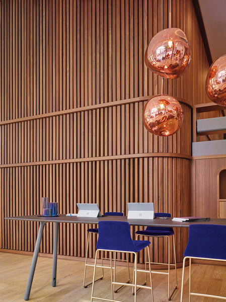 Steelcase LINC Tour Beispiel - moderne Inneneinrichtung und Büromöbel
