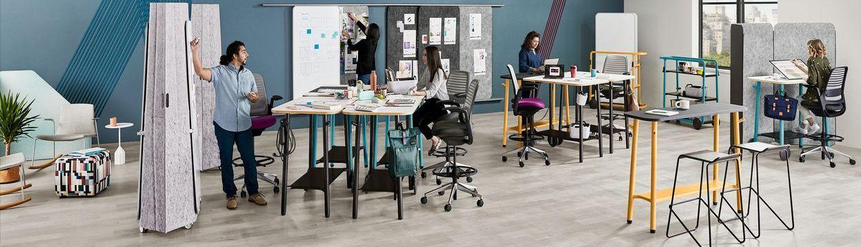 The New Normal Workshop Coverbild - Steelcase Flex Collection im agilen Office