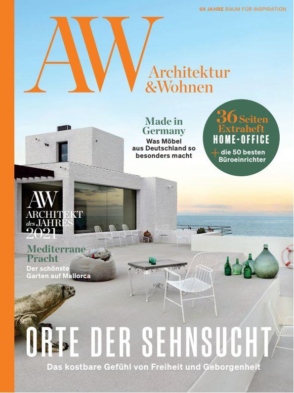 Titelseite Architektur & Wohnen - Die 50 besten Büroeinrichter