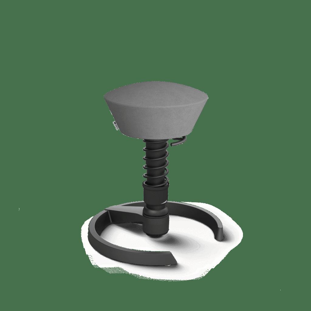 Aeris Swopper in den Farben Schwarz - Microfaser-Grau